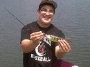 Photo of Perch Caught by Christopher with Mister Twister Aglia & Dressed Aglia in New Jersey - Mister Twister