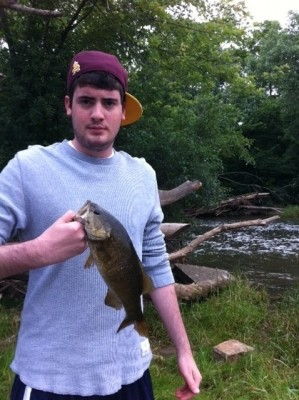 Photo of Chris's 6/24/11 Bass, Smallmouth