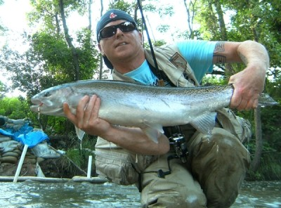 Photo of Ted's 7/5/11 Steelhead
