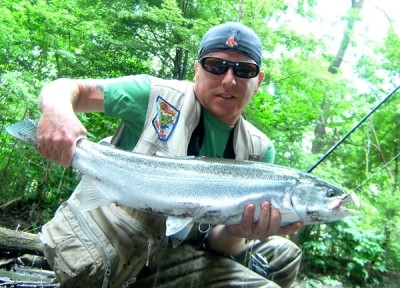 Photo of Ted's 8/13/11 Steelhead