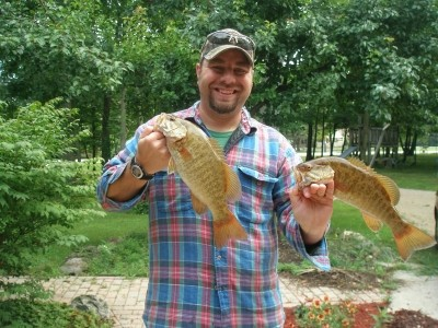 Photo of Bass Caught by Jacob with Mister Twister Aglia & Dressed Aglia in Wisconsin - Mister Twister