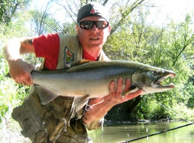 Photo of Ted's 9/21/11 Salmon, Coho (silver)