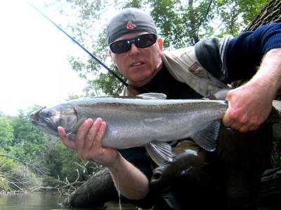 Photo of Ted's 9/26/11 Salmon, Coho (silver)