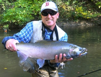 Photo of Ted's 9/30/11 Salmon, Coho (silver)