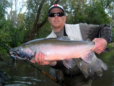 Photo of Ted's 10/1/11 Salmon, Coho (silver)