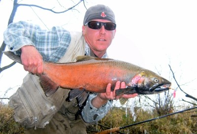 Photo of Ted's 10/26/11 Salmon, Coho (silver)