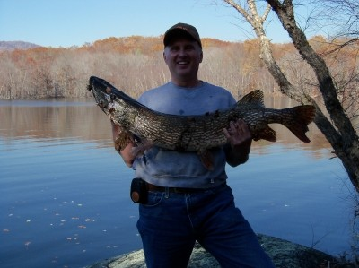 Photo of Pike Caught by Bruce with Mepps Syclops in New Jersey