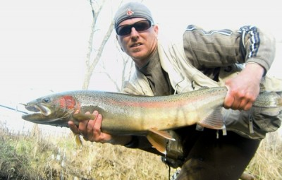 Photo of Ted's 11/18/11 Steelhead