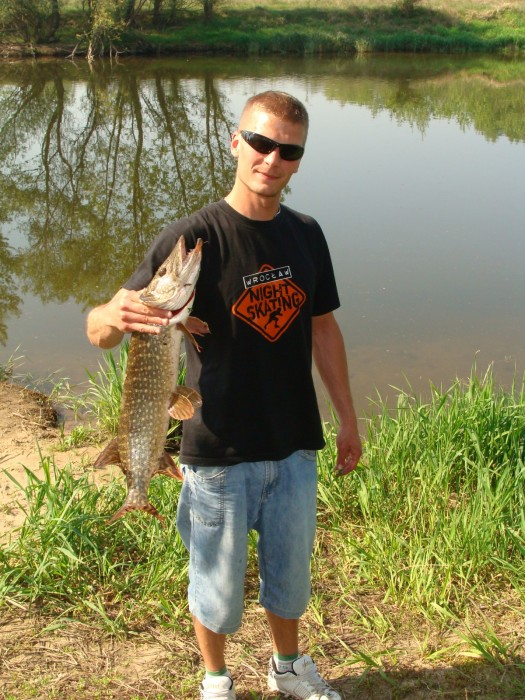 Photo of Pike Caught by Maciej with Mepps Black Fury in Poland