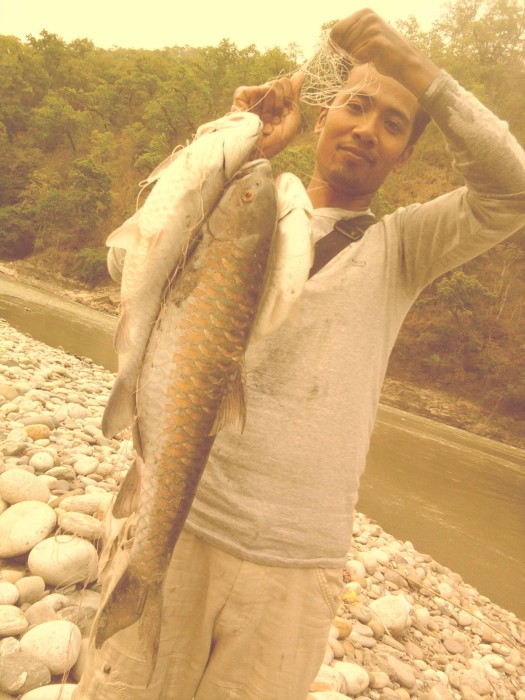Photo of Golden Mahseer Caught by Rakesh with Mepps LongCast in India