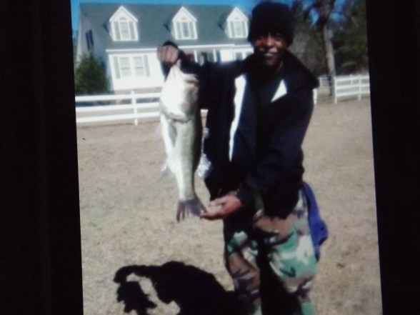 Photo of Bass Caught by Robert with Mepps Aglia Streamer in South Carolina
