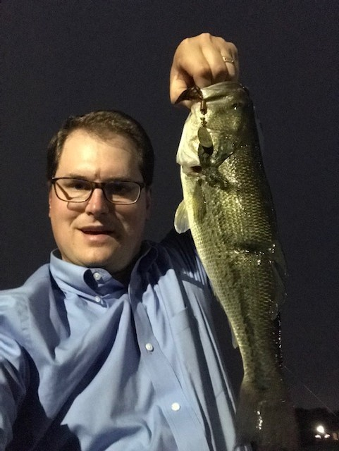 Photo of Bass Caught by Jacob with Mepps Aglia & Dressed Aglia in Illinois