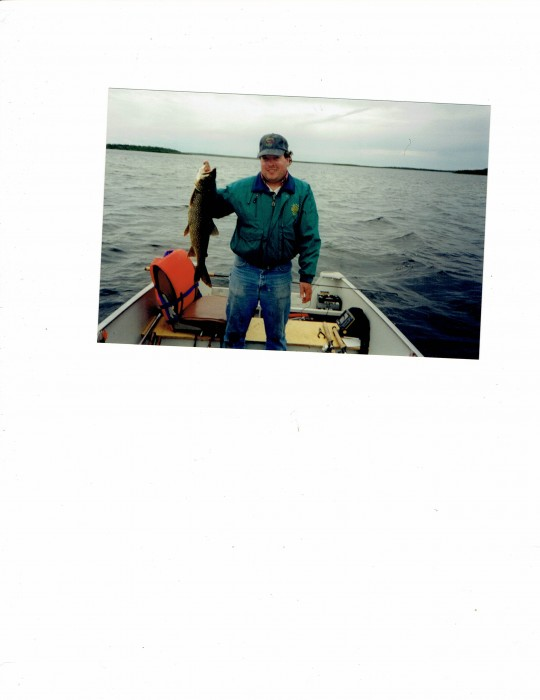 Photo of Trout Caught by Jerome with Mepps Giant Killer in Northwest Territories