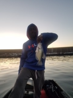 Photo of Crappie Caught by Chris with Mepps Trolling Rig in United States