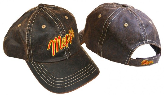 Rugged Brown Fishing Cap