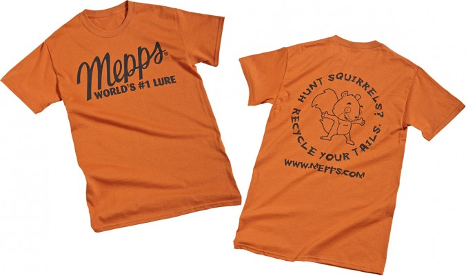 Mepps Squirrel Tail T-Shirts (Old Style)