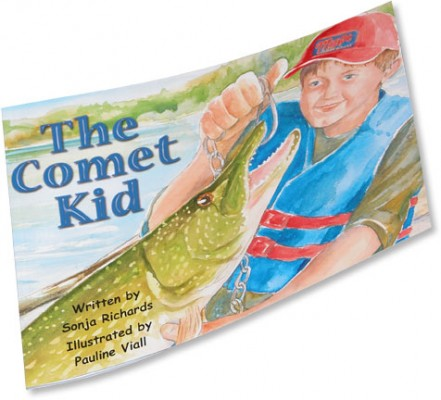 The Comet Kid Book