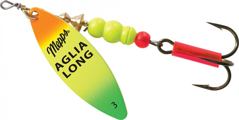 Aglia long fishing lure mepps for Mepps fishing lures