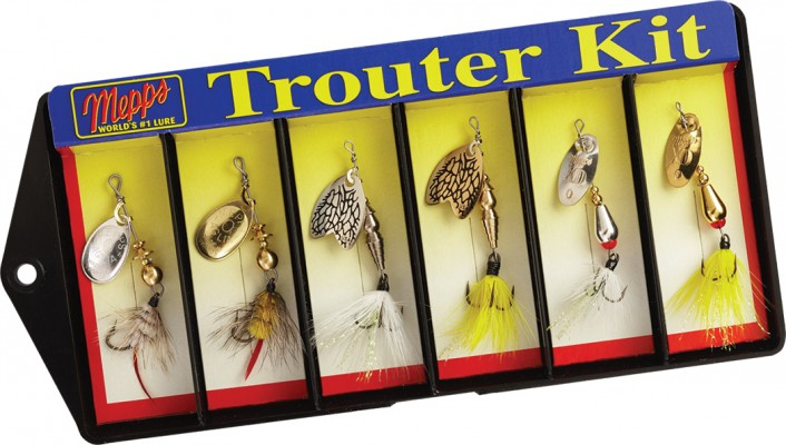 Trouter Kit - Dressed #0 Lure Assortment