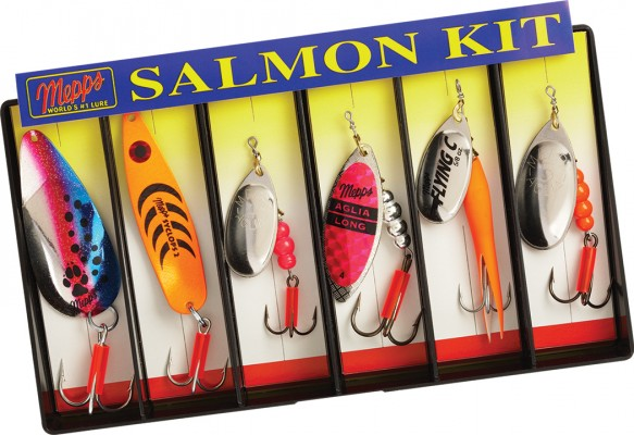 Salmon Kit - Plain Lure Assortment