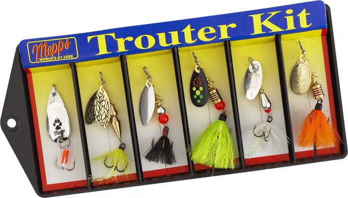 Trouter Kit - Plain and Dressed Assortment