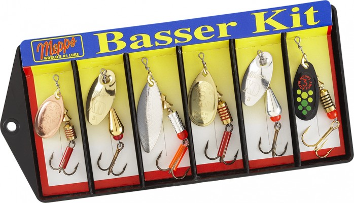 Basser Kit - Plain Lure Assortment