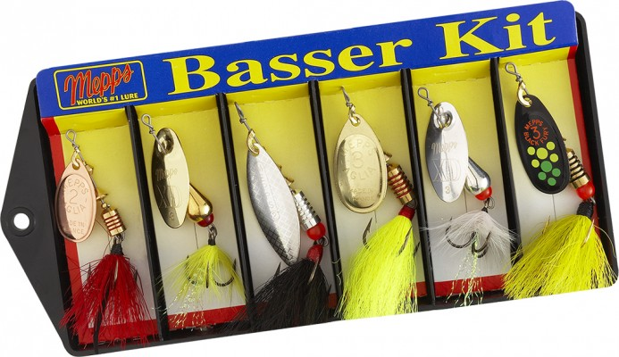 Basser Kit - Dressed Lure Assortment