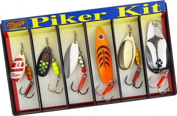 Piker Kit - Plain Lure Assortment