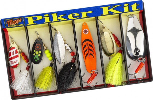 Piker Kit - Plain and Dressed Lure Assortment
