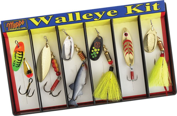 Walleye Kit - Plain and Dressed Assortment