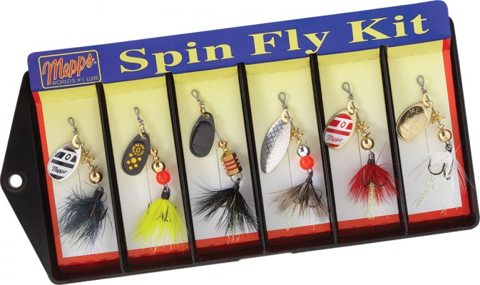 Spin Fly Kit - Size 0 Dressed Lure Assortment
