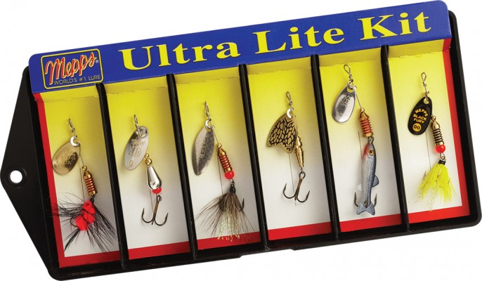 Ultra Lite Kit - #00 and #0 Lure Assortment